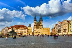 3 Nights 5-Star Prague Marriott Wflights & Break