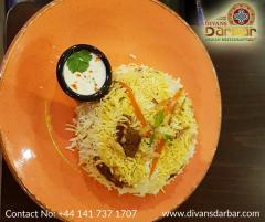 Delicious Indian Food In Glasgow-Divans Darbar