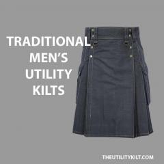 Traditional Mens Utility Kilts