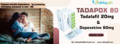 Tadapox 80 Mg L Tadalafil With Dapoxetine