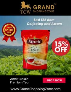 Grand Shopping Zone Beverages  Darjeeling Green