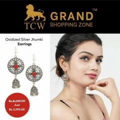 Grand Shopping Zone Jewellery  Silver Ghungroo J