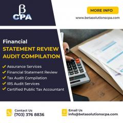 Financial Statement Review Audit Compilation  Cp