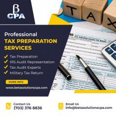 Tax Preparation Services In Tysons  Best Tax Acc