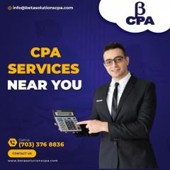 Best Tax Accountant Near Tysons  Cpa Services In