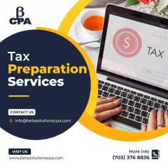 Tax Preparation Services In Tysons- Tax Accounta