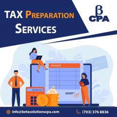 Tax Preparation Services In Tysons- Cpa Near Me
