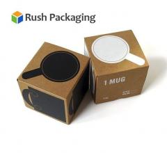 Get Custom Coffee Boxes Wholesale At Rush Packag