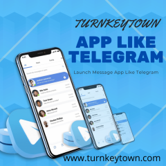 Telegram Clone App Development - Turnkeytown