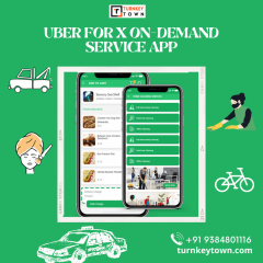 Uber For X On-Demand Service App  Turnkeytown