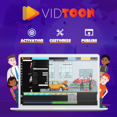 Vidtoon - World Best 2D Drag And And Drop Animat