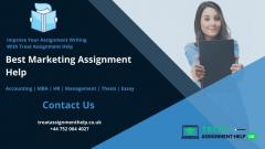 Get Finest Marketing Assignment Help Services Fo