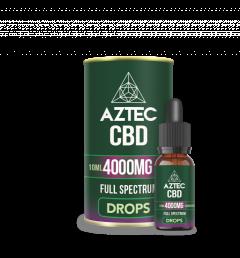 Shop Cbd Oil Drops 4000Mg From Aztec Cbd