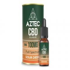 Shop Sour Diesel Cbd E-Liquid 10Ml By Aztec Cbd
