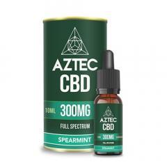 Spearmint Cbd Oil Drops By Aztec Cbd - Shop Now