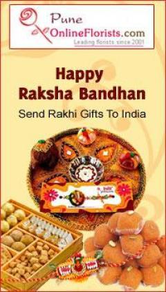 Order Online Rakhi Delivery In Pune On The Same