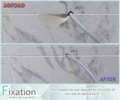 Damaged Tile Repair Service From Fixation Surfac