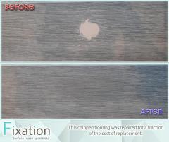 Repairing A Damaged Laminate Floor - Fixation-Re