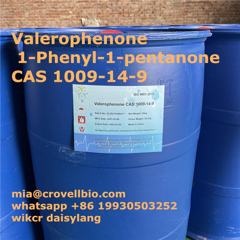 Valerophenone CAS 1009-14-9supplier in CHina   whatsapp 86 19930503252 3 Image