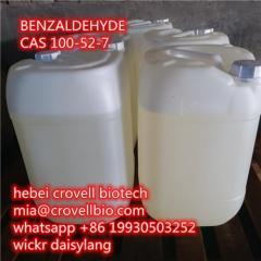 Benzaldehyde Cas 100-52-7 Supplier Manufacturer