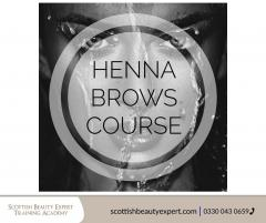Henna Brows Diploma Course-Scottish Beauty Exper