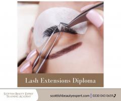 Get Lash Extensions Diploma Course-Scottish Beau