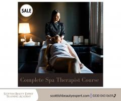 Grab The Sale For Intensive Spa Therapist Course