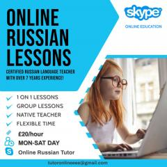 Russian Lessons Via Skype, Highly Qualified Nati