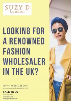 Looking For A Renowned Fashion Wholesaler In The