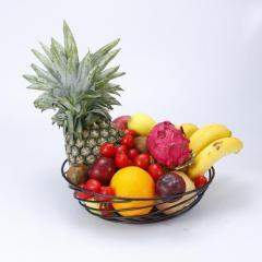 Guangyang Metal Wire Fruit Basket Storage Bowl F