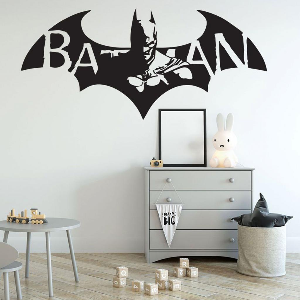 Superhero Wall Stickers 4 Image
