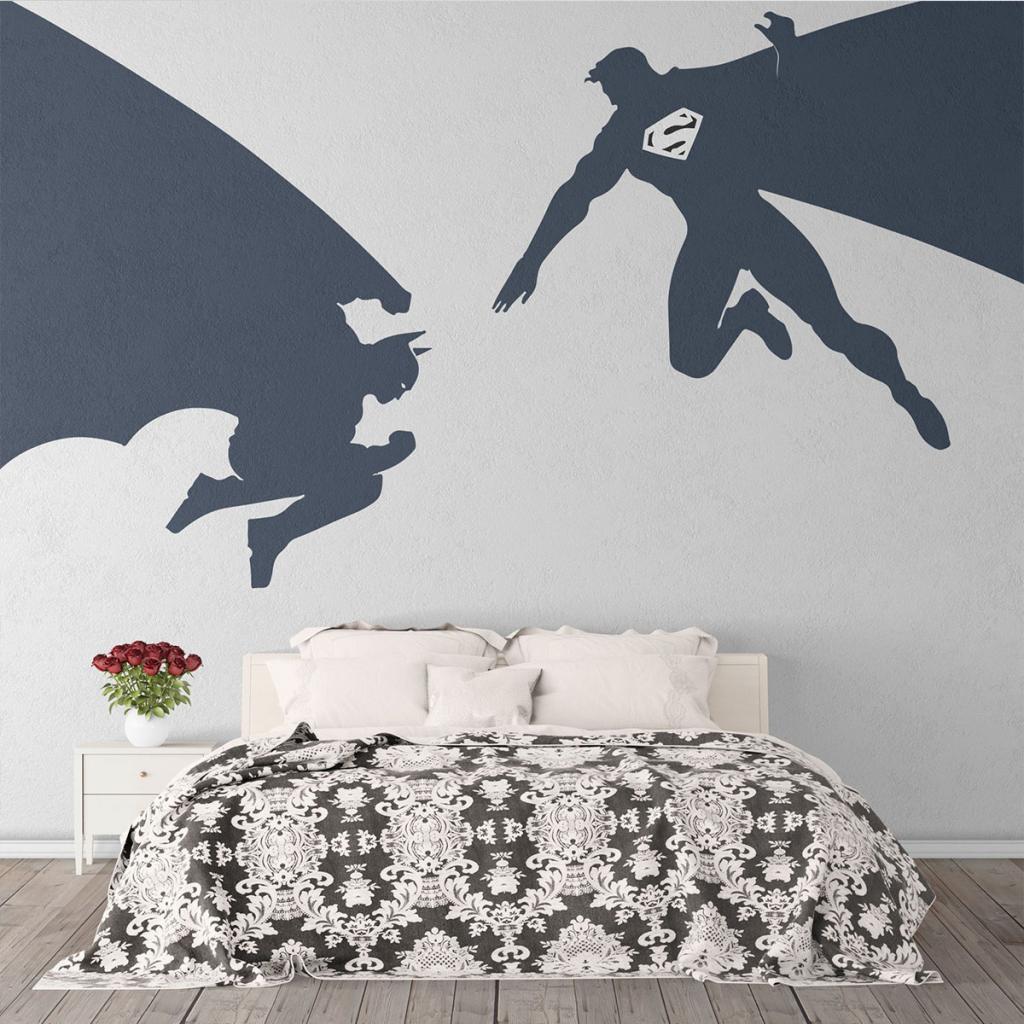 Superhero Wall Stickers 3 Image