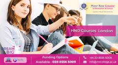 Hnd Courses In Uk
