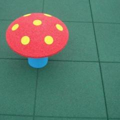 Rubber Safety Playground Tiles - Durable, And Al