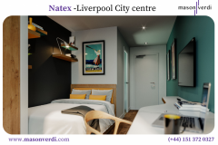 Natex - Liverpool Student Accommodation  Mason V