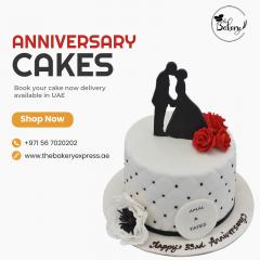 Wedding Anniversary Cakes In Dubai |  Best Cake
