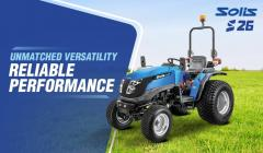 Choose Solis Garden Tractors For Powered Product