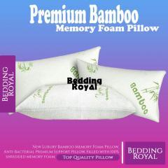 Bamboo Memory Foam Pillows Sale.