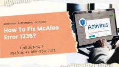 How To Fix Mcafee Error 1336  1-855-869-7373