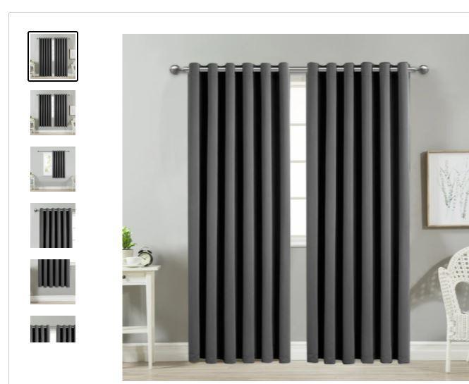 Grey Curtains 3 Image