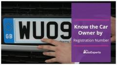 Find The Car Owner By Vehicle Registration Numbe