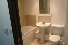 A Fully Furnished Double Bedroom With Private En