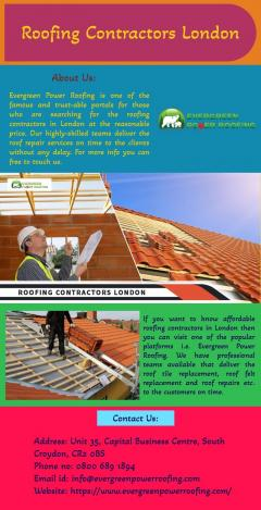 Looking For Roofing Contractors In London
