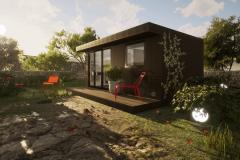 Cabin Range  Garden Retreat Rooms