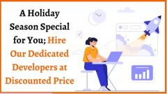 A Holiday Season Special For You, Hire Our Dedic