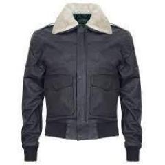 Shop Mens Air Force A2 Leather Flight Bomber Jac