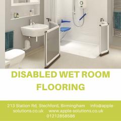 Disabled Wet Room Flooring