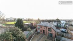 Twin Bedroom (Room 201 - Bed 1) - 5-Bedroom apartment in residential Leyton