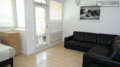 Single Bedroom (Room A) - Simple 4-bedroom apartment in quiet Bethnal Green