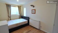 Single Bedroom (Room B) - Large 5-Bedroom Apartm